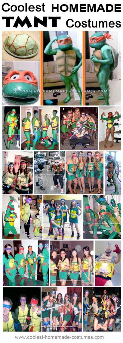 Homemade Teenage Mutant Ninja Turtles Costume Ideas - Coolest Halloween Costume Contest