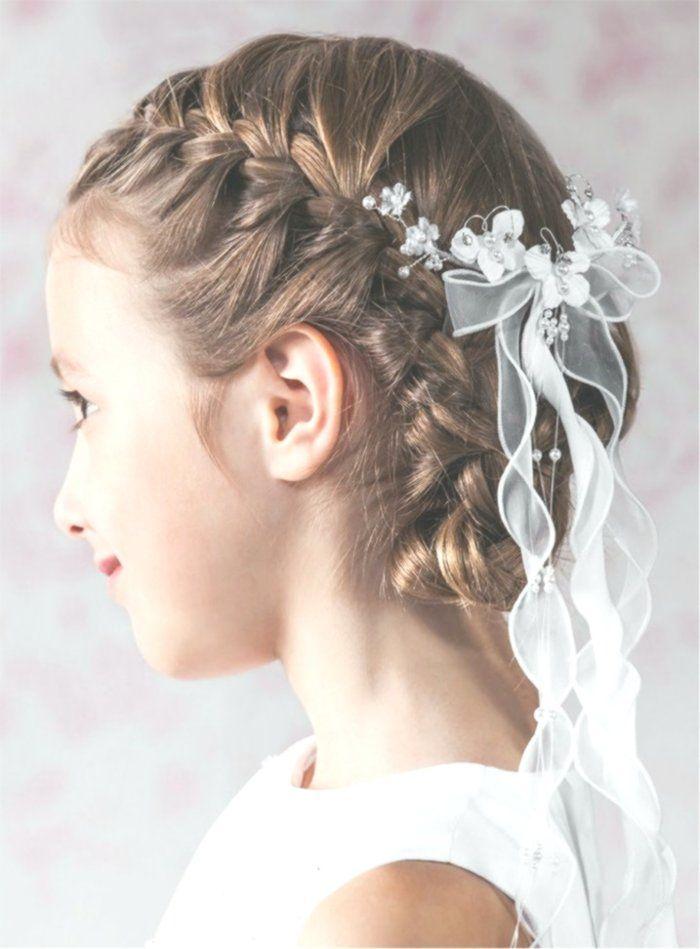 Neu Ein Susses Madchen Frisuren Fotos Hintergrund On Beste Frisuren Des Jahres 2019 Kommunion Frisur Madchen Kommunion Frisur Geflochten Kommunion Frisuren