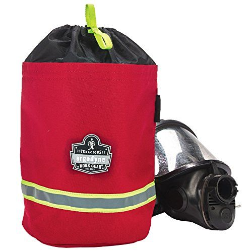 Ergodyne Arsenal 5080L SCBA Mask Bag with Fleece Lining offers convenient storage of SCBA Respirator Masks. The fleece lining on the interior of the bag protects the SCBA respirator mask from getting scratched or damaged. There is a convenient drawstring closure for easy, one-handed access to...