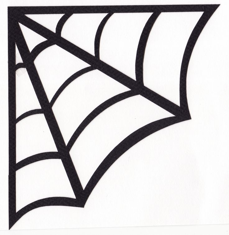 It is a photo of Inventive Spider Web Template Printable