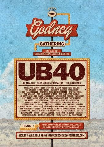 Looking forward to playing at the Godney Gathering 2015 #wearethegathering