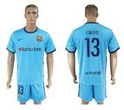Barcelona FC 17-18 Away soccer kits 13