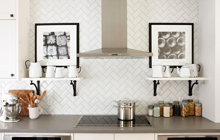 geometric kitchen backsplash - Google Search