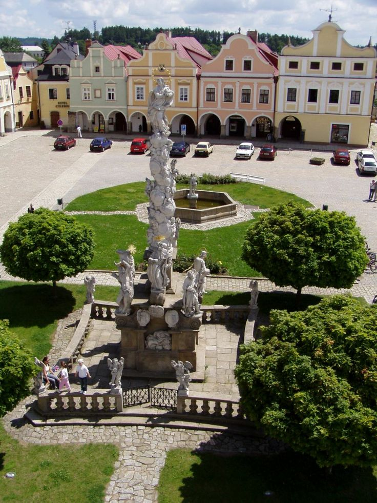 Telč - renaissance town in South Moravia, Czechia