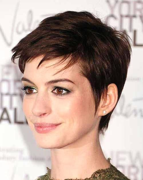 Unique Short Pixie Haircuts For Thick Straight Hair Short Pixie