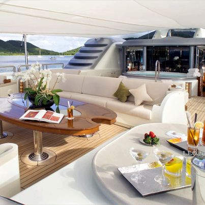 Kimora Lee Simmons' decadent holiday aboard $325k-a-week yacht