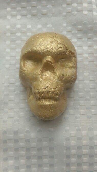 Edible Skull Cake Decoration