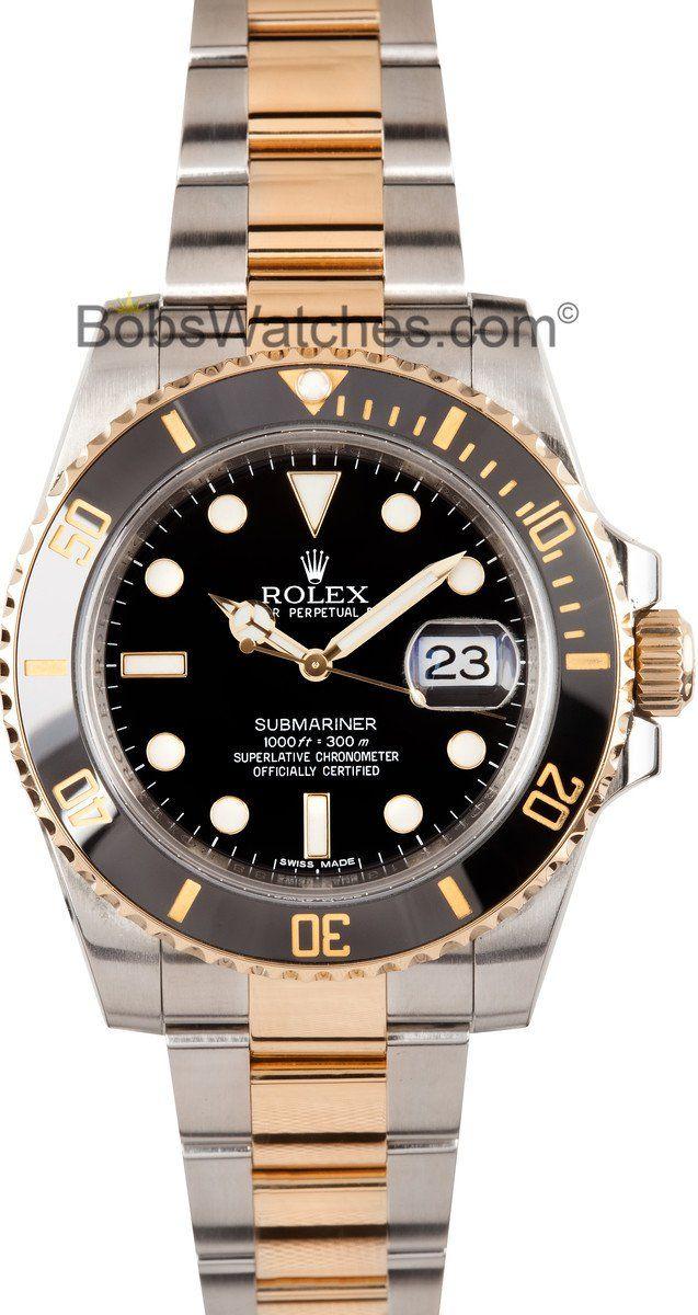 Rolex Submariner 116613 Steel & Gold