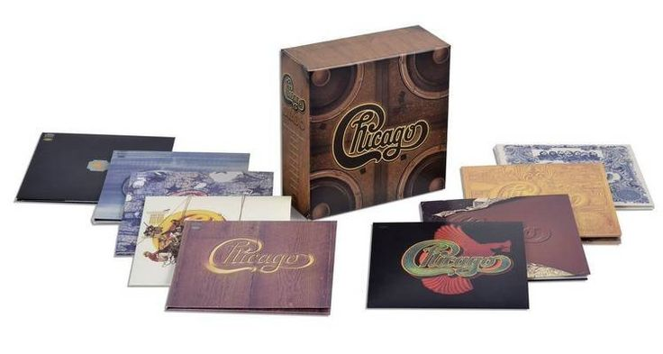 Chicago   Quadio   192/24 DTS-HD Master Audio 9 CD Box Set