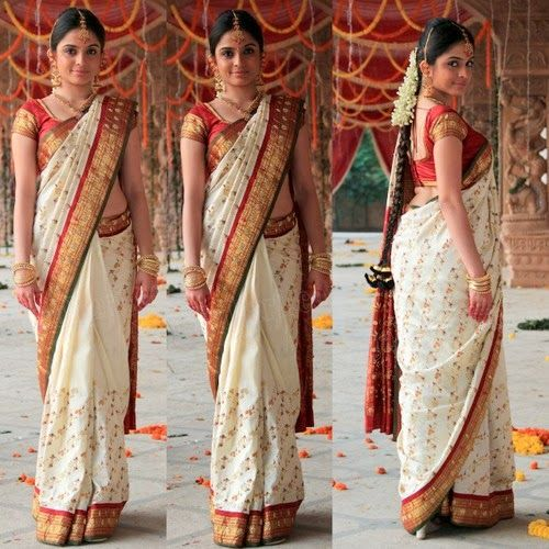Sheena Shahabadi White Bridal Saree