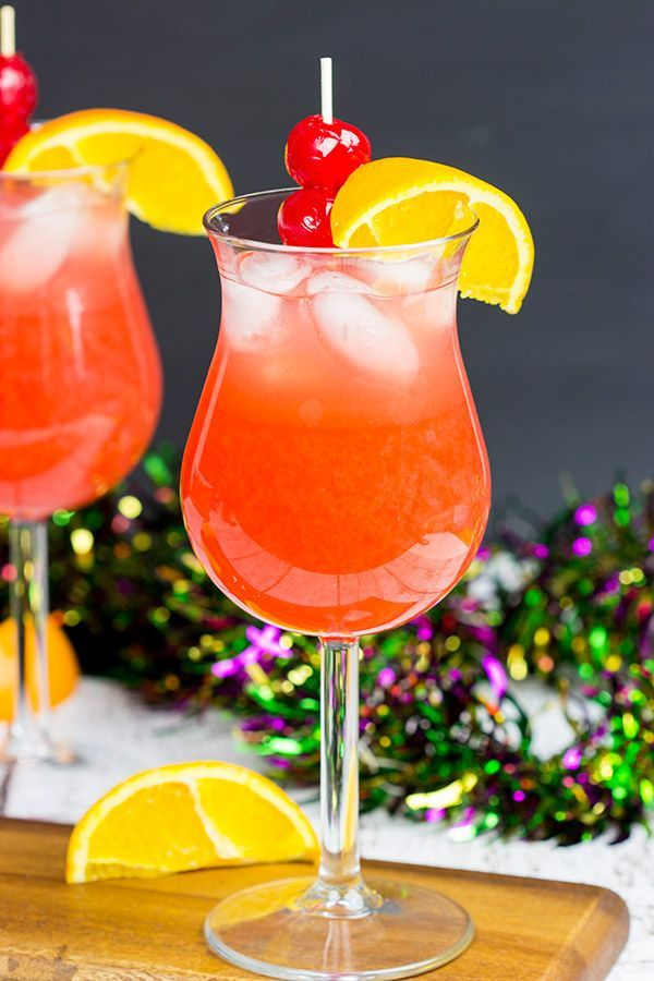 What are you celebrating this weekend? Grab some rum and whip up a Classic New Orleans Hurricane!