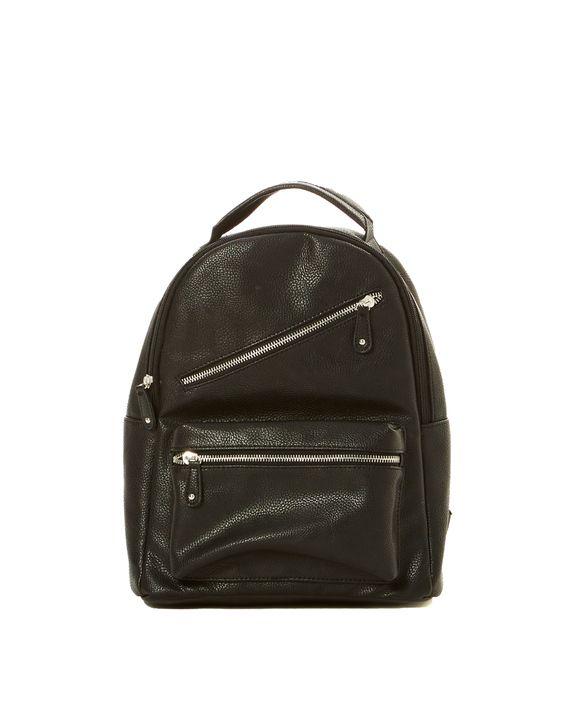 Metal Zip Backpack
