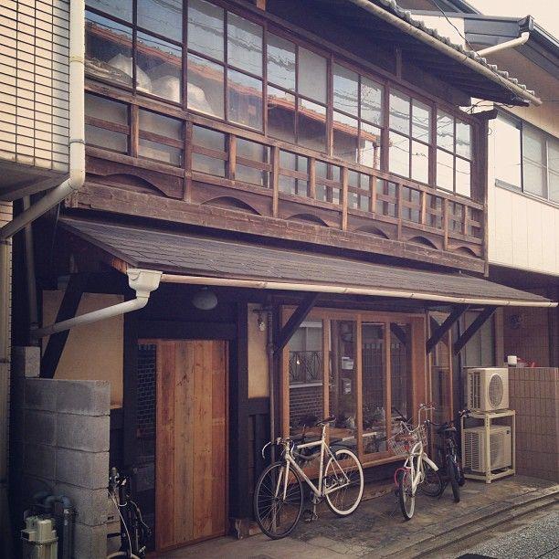 Hygge, new Machiya style cafe in Shimabara, Kyoto. #Kyoto #cafe
