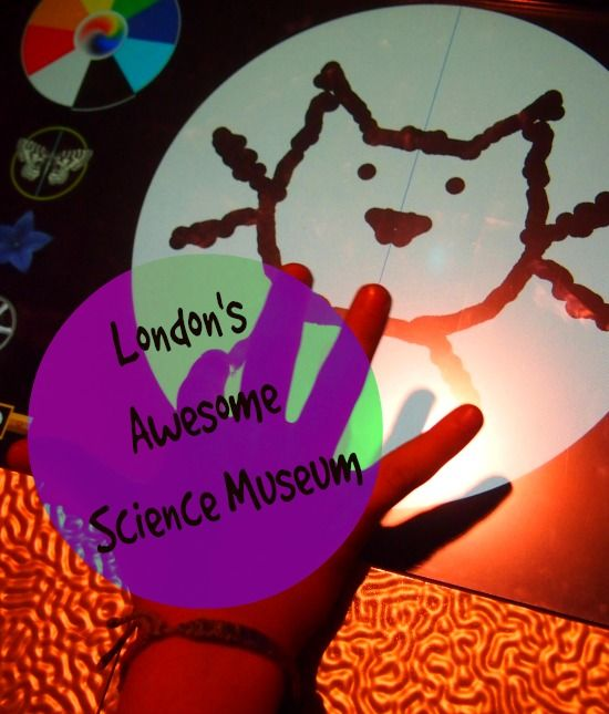 Family Travel Blog review of the Science Museum