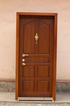 Kerala house main door designs google search vijay for Simple wooden front door designs