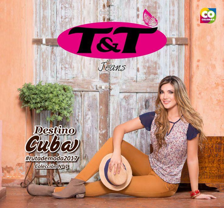 Primera colección T&T Jeans 2017, con lo mejor de Cuba.  En esta colección nos transportamos a Cuba, que con su atmósfera bohemia y romántica permite llegar a texturas que cobran vida.