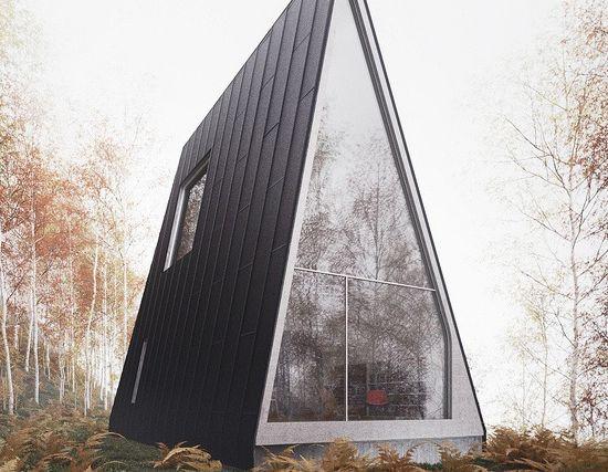 Casas modulares y prefabricadas de dise o casa prefabricada de monta a casa triangular a - Casas prefabricadas en leon ...