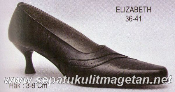 Sepatu Kulit Asli Wanita CJ Elizabeth