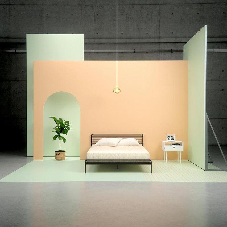 Metal Sonnet Platform Bed Frame Metal Platform Bed Wood