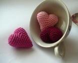 crocheted heartsCrochet Heart Lov, Heart Redheartyarns, Knits Crochet, Heart Heart, Heart 2 Heart, Crochet Heart But, Crochet Hearts But, Crochet Knits, Yarns Crochet