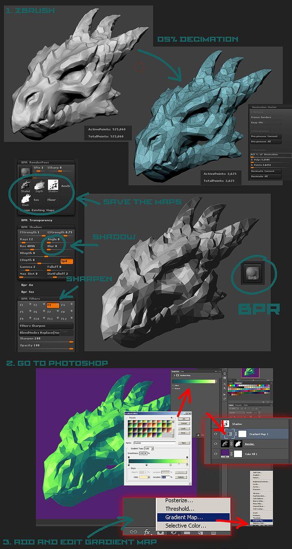 PolygonArt. 3d sculpt to polygon art style illustration tutorial #1. Voronartcom Full version: http://voronart.com/3d-sculpture-polygon-art/