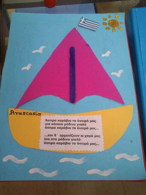 Εξώφυλλο φακέλου για το τέλος της σχολικής χρονιάς