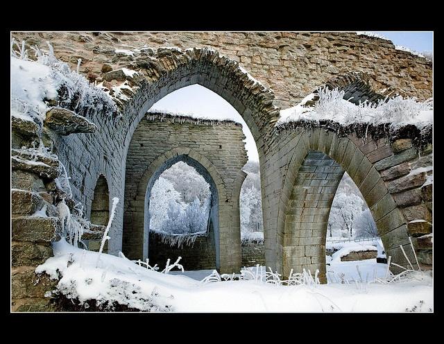 Alvastra church ruin, Sweden