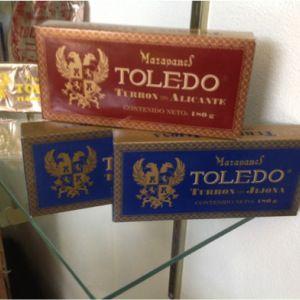 Los originales Mazapanes Toledo.  Foto: Karla Fernández.