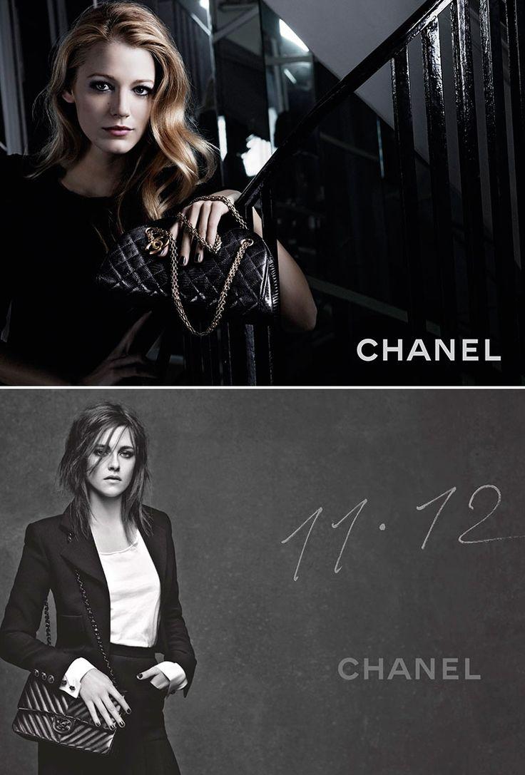 ¿Otra cosa más? Las dos actrices han sido imagen de Chanel.