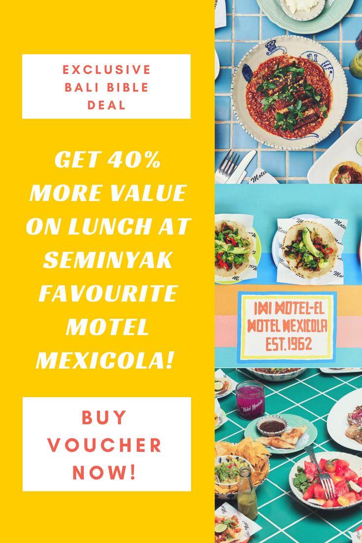 Your Deal Voucher Now Bali S Top 100 Restaurants In 2018 Pinterest Lunch Restaurant A