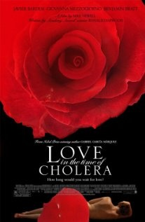LOVE IN THE TIME OF CHOLERA  Florentino, rejected by the beautiful Fermina at a young age, devotes much of his adult life to carnal affairs as a desperate attempt to heal his broken heart.