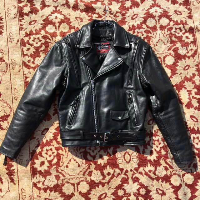 Black men's motorcycle jacket, jacket from real leather, really soft, has many zippers, for real men, vintage style, size-medium. by VladVintage19 on Etsy https://www.etsy.com/ca/listing/512443271/black-mens-motorcycle-jacket-jacket-from