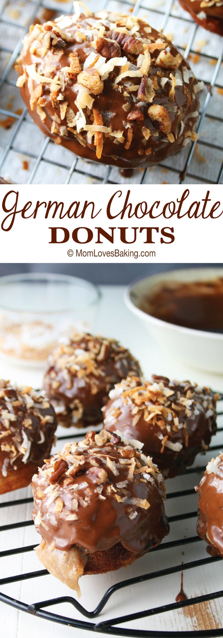 25+ best Chocolate donuts ideas on Pinterest | Baked doughnut ...
