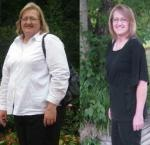 Diane ~ 100 lbs gone! I have gone from a size 22 to a 12, as a result of weight loss, my doctor reduced my medications for Type II diabetes, and no more constant sweating.