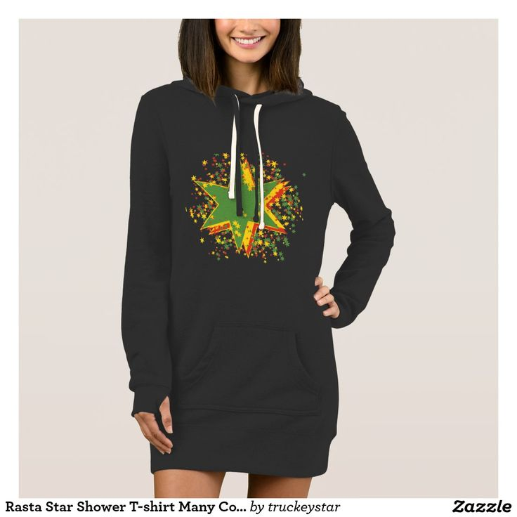 Rasta Star Shower T-shirt Many Colors and Styles