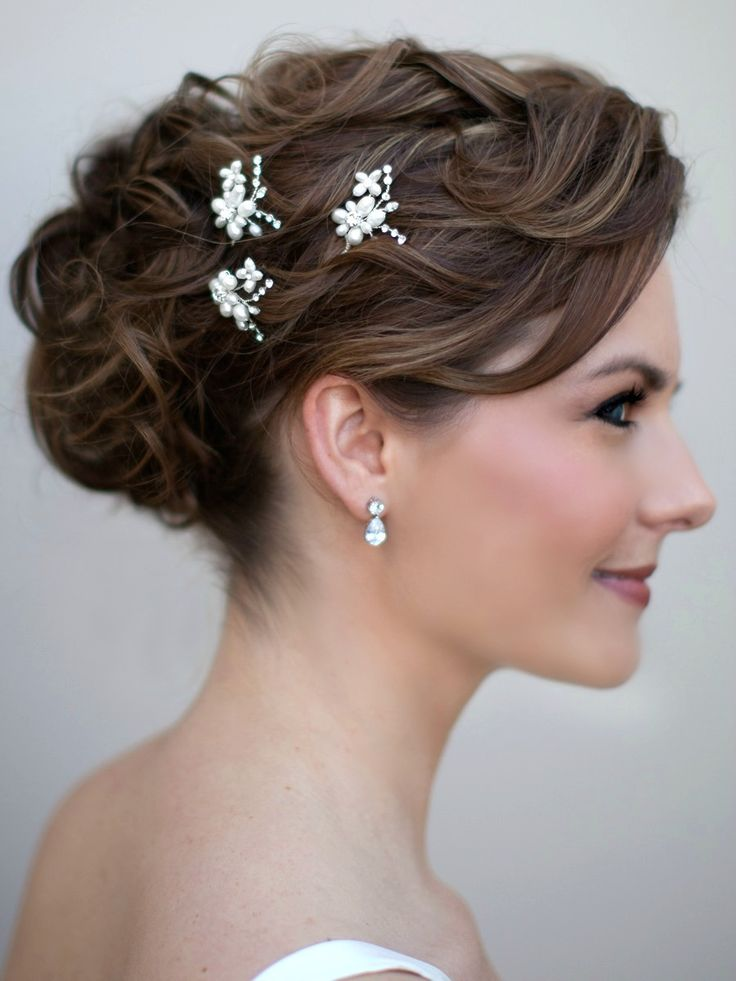 530 best Prom Hair Accessories images on Pinterest | Wedding hair accessories, Wedding headdress ...