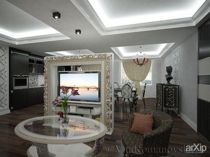 Тайная комната #interiordesign #3dvisualization #apartment #house #artdeco #30_50m2 #studio #atelier #interior