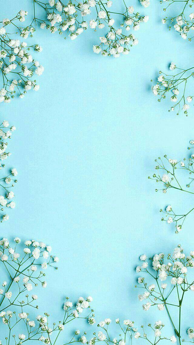 Pin By Cicih Mandar Iriani On Wallpaper Spring Wallpaper Wallpaper Backgrounds Tumblr Wallpaper Beautiful blue wallpaper for iphone