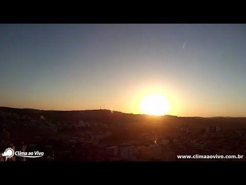 Belo nascer do sol em Santo Antônio do Monte / MG - 08/09/17