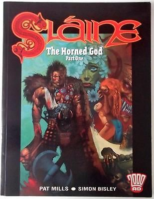 SLAINE - THE HORNED GOD - PART ON - GRAPHIC NOVEL 2000AD