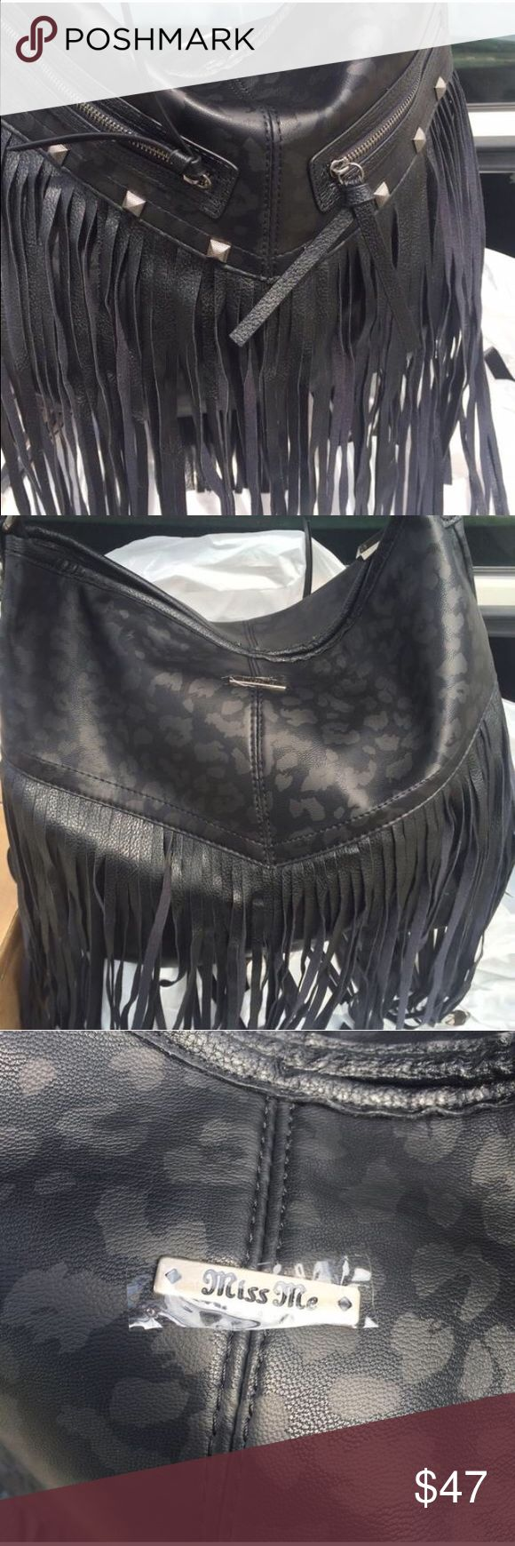NWT Miss me purse New with tags. Plastic over name plate for protection. Miss Me Bags Shoulder Bags