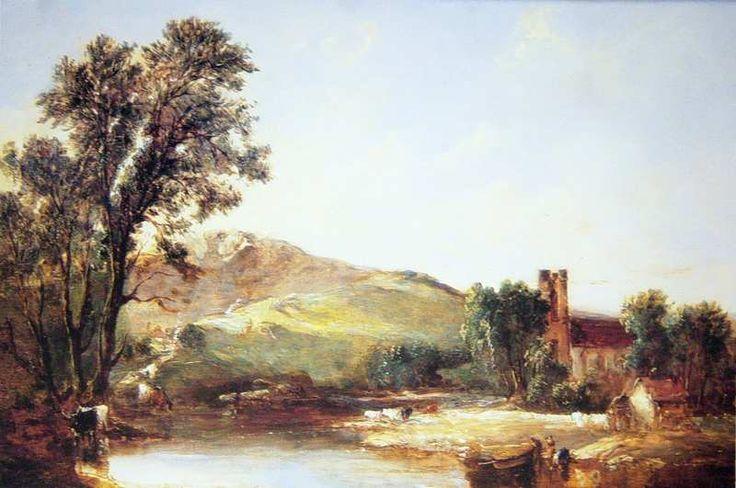 Vickers, Alfred: Krajina s kostelem