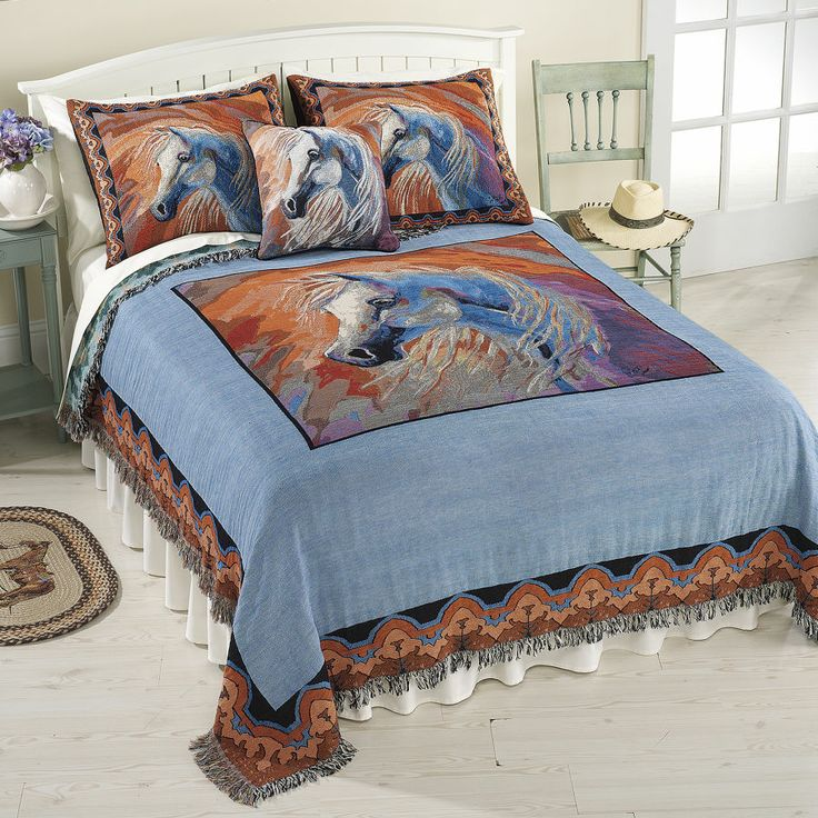 Good Dream Horse Coverlet   Horse Themed Gifts, Clothing, Jewelry And  Accessories Allu2026