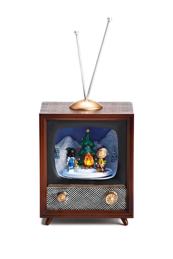 "Roman   Musical 10"" LED Snoopy Campfire TV   Tv decor ..."