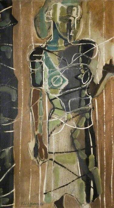 Standing Figure, Rachel, 1950 by Patrick Heron (British 1920-1999)