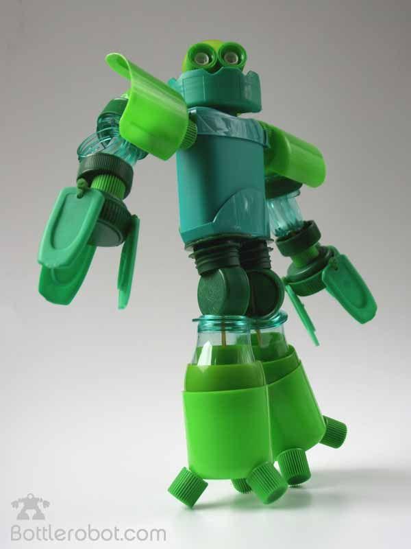 Reciclado+De+Botellas+Plasticas  Bottlerobot. Robots con ...