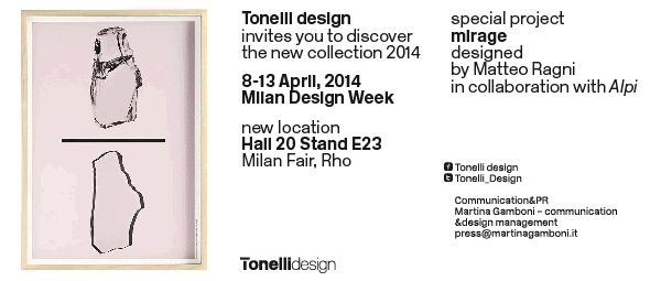 The new visual identity of Tonelli design, curated by Leonardo Sonnoli from Tassinari/Vetta design studio, reflects and emphasises the ambiguity of glass... #‎tonellidesign‬ ‪#‎glass‬ ‪#‎project‬ ‪#‎designisintheair‬