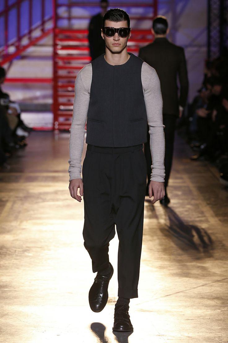 CERRUTI 1881 PARIS FW 14-15 Men's Fashion Show - Look 5