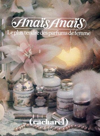 Cacharel (Perfumes) 1985 Anaïs Anaïs Vintage advert Perfumes photography by Sarah Moon | Hprints.com