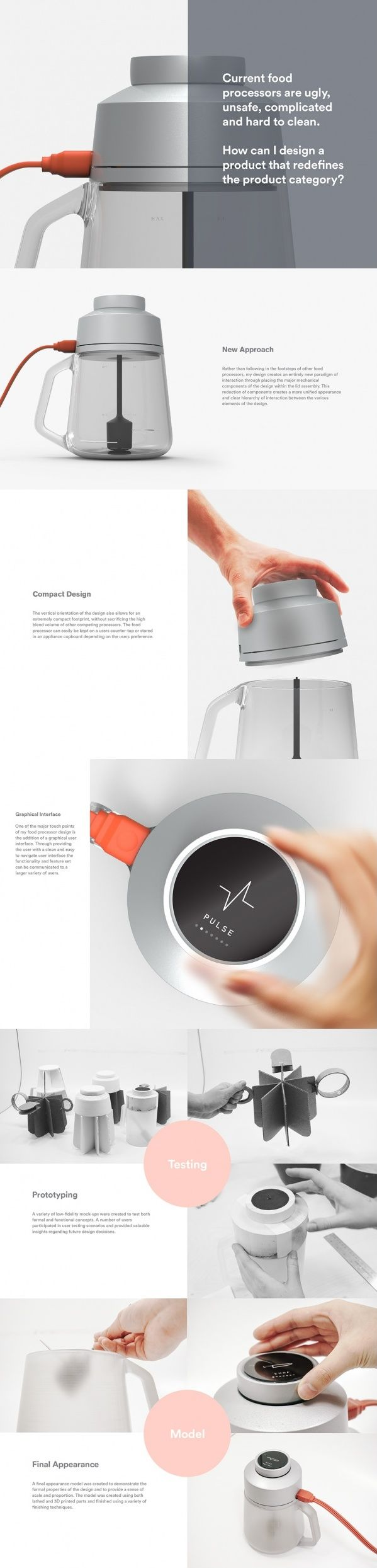 This Food Processor by Dustin Lee shakes things up. For starters, it's upside…